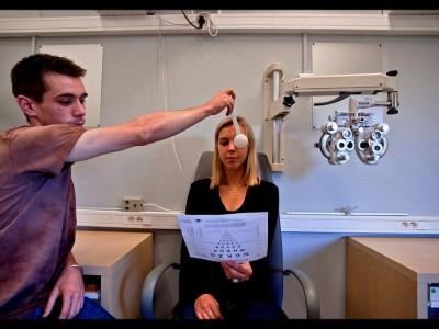 Formations opticien : contrôle de vue