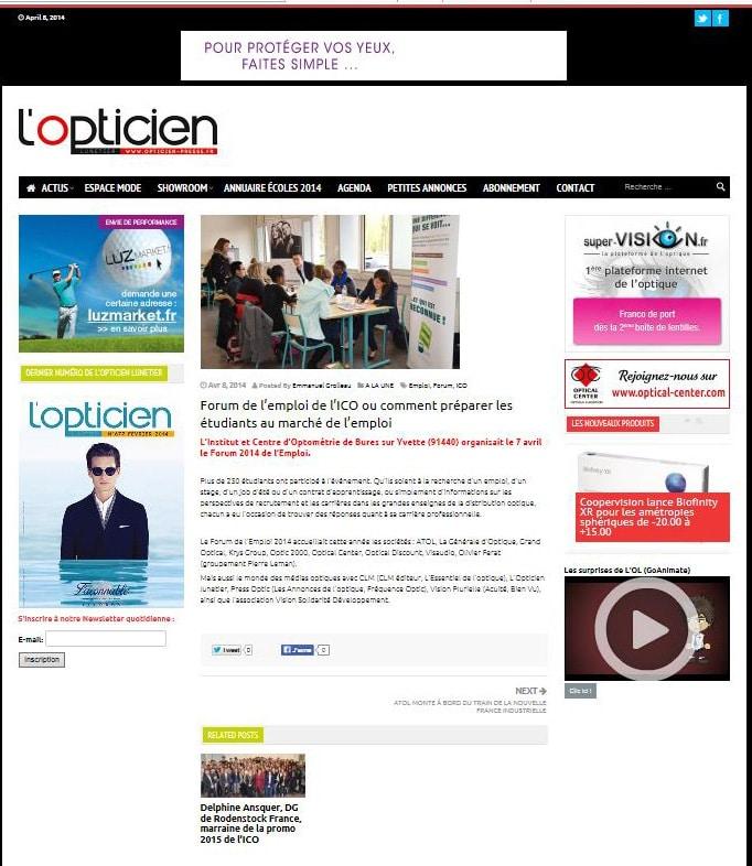 Forum emploi 2014