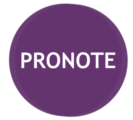 Accès à Pronote PRONOTE