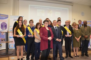 remise diplomes licence commerce vente optique ICO 2014