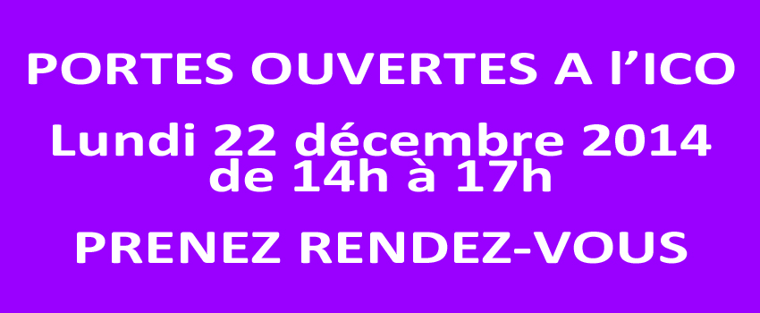Portes ouvertes décembre 2014 à l
