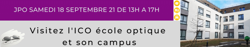 Devenez opticien avec l'ICO grande école optique BTS opticien