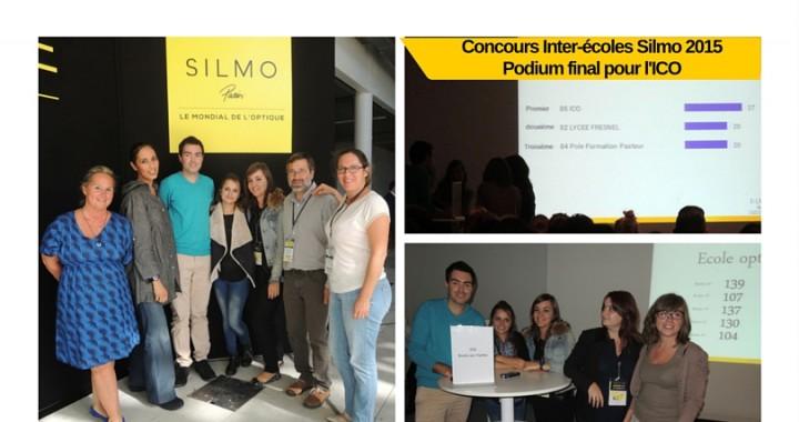 ICO gagne le concours inter-ecoles au SILMO 2015