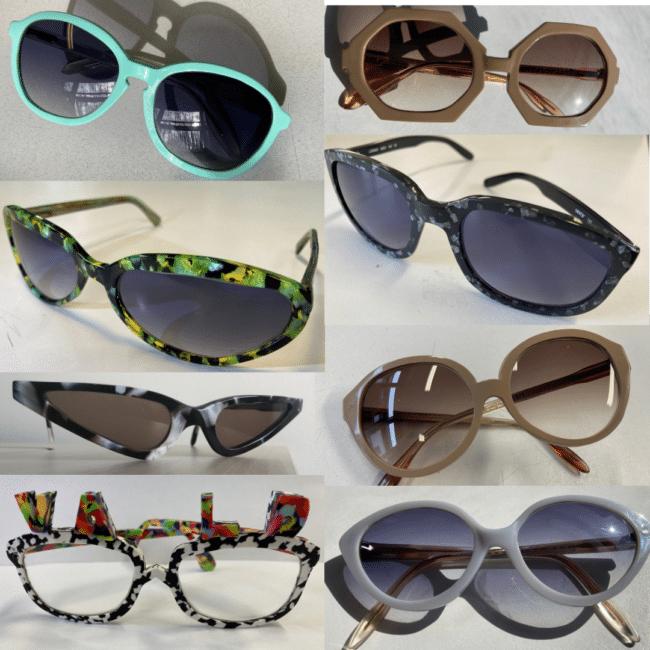 Créations de lunettes à l'ICO