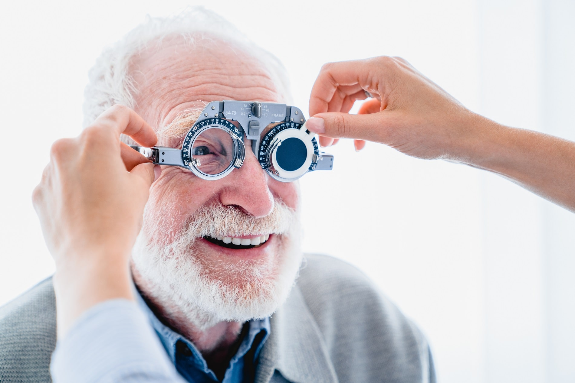 Vision de la personne âgée et basse vision