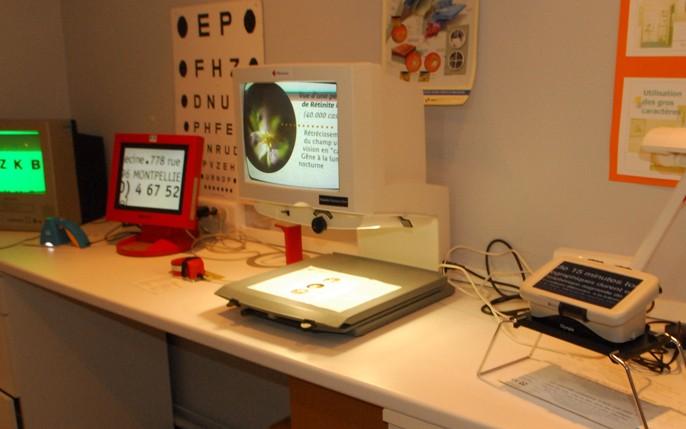 équipement basse vision inégalé de l'ICO