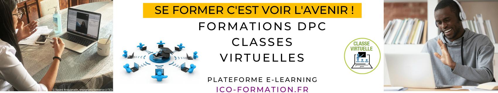 formations optiques à distance, classes virtuelles, e-learning, ICO