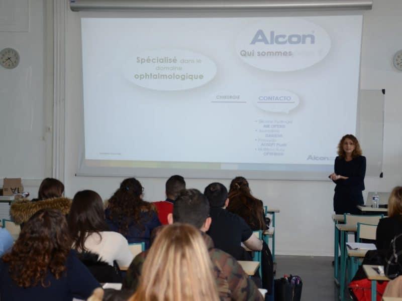 ALCON conférence sur la contactologie à l'ICO