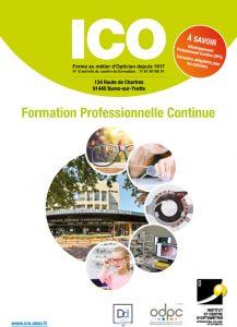 catalogue formations pour opticiens professionnels de santé visuelle