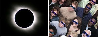 venez au magasin optique pédagogique de l'ICO regarder l'éclipse