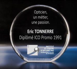 Eric Tonnerre opticien diplome BTS OL ICO