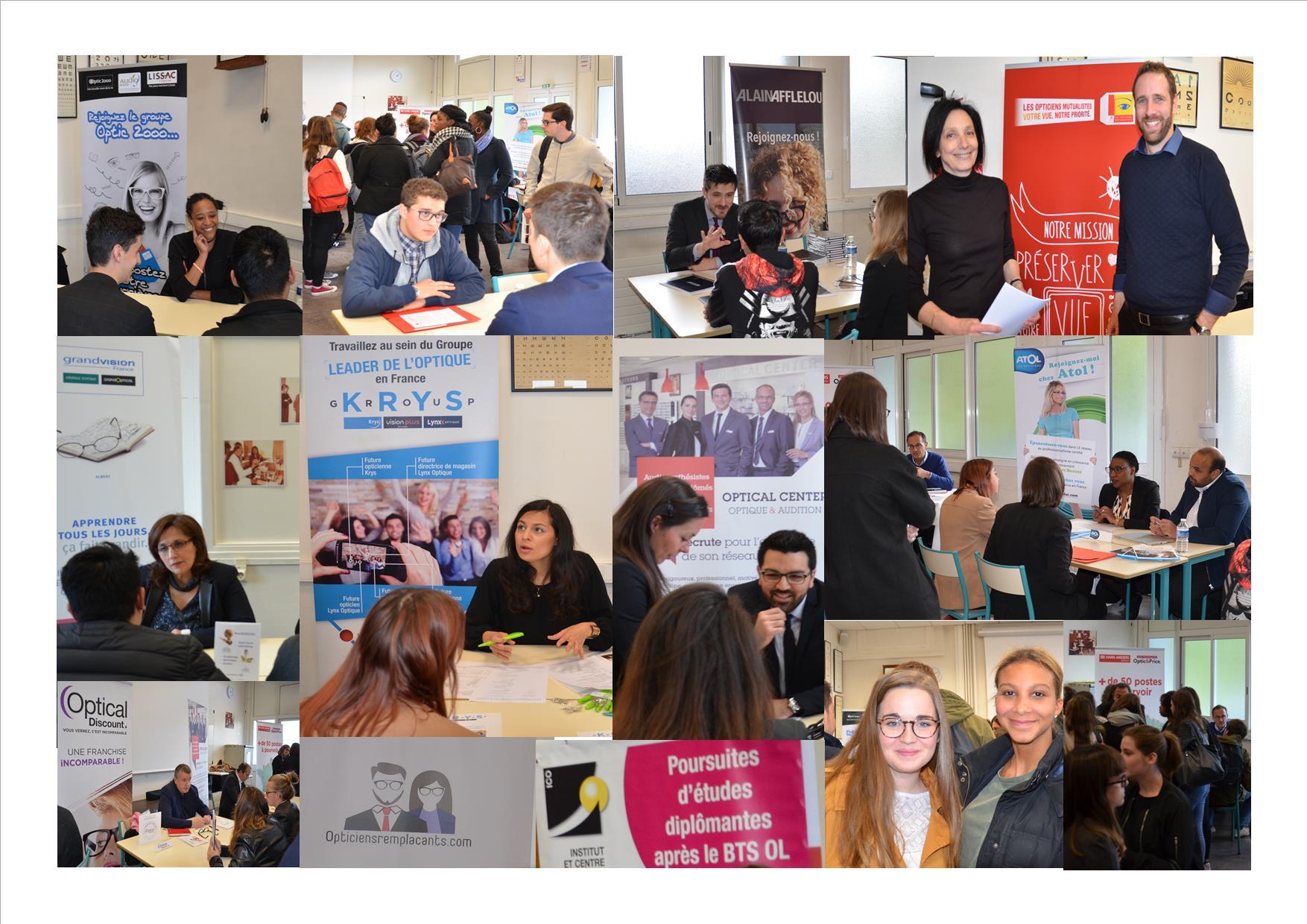 Le forum de l'emploi a encore eu lieu cette année à l'ICO
