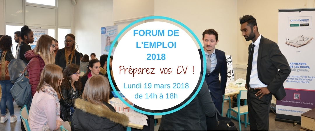forum emploi etudiants opticiens ICO
