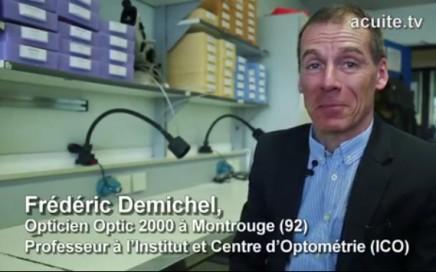 Frédéric Demichel, enseignant ICO, en finale du 25ieme concours MOF Lunetiers