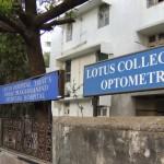 lotus college optometry inde etudiants opticiens ICO humanitaire