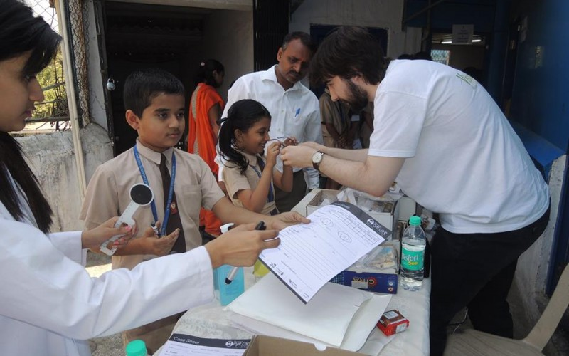 ico actions humanitaires opticiens mumbai inde 2016