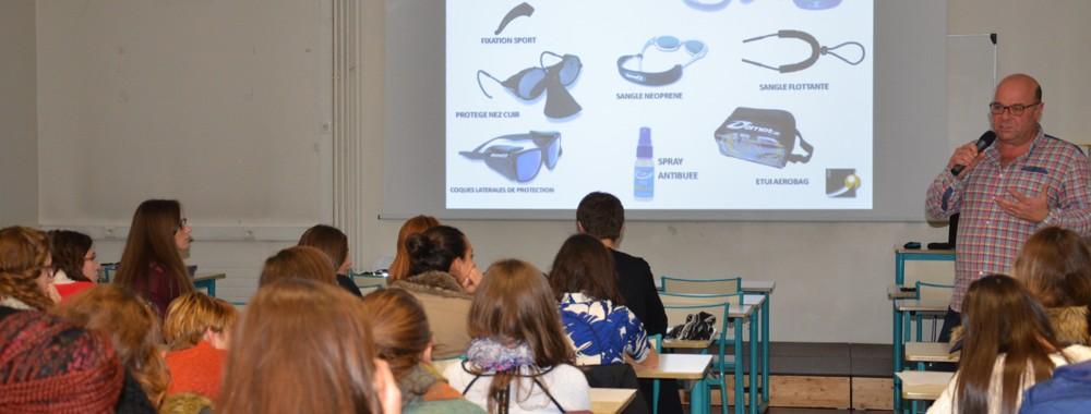conférence des étudiants de bts ol à l'ICO