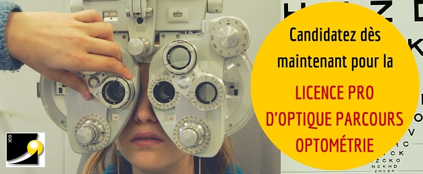 formation optique optometrie ICO licence professionnelle en apprentissageformation optique optometrie ICO licence professionnelle en apprentissage