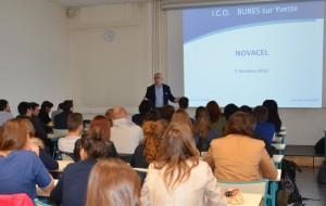 novacel conference etudiants deuxieme annee bts opticien