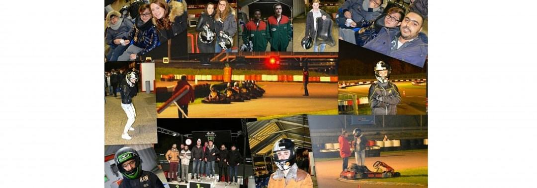 soiree karting organisee par le bde ico