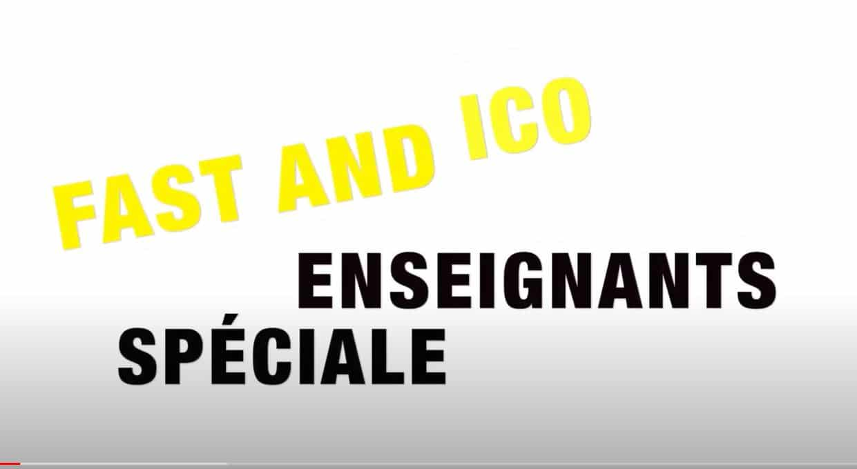 Fast and Curious ICO enseignants