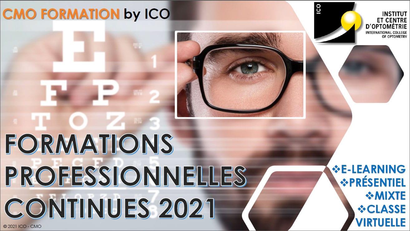 formations professionnelles optiques pour opticiens santé visuelle ICO Formation by ICO