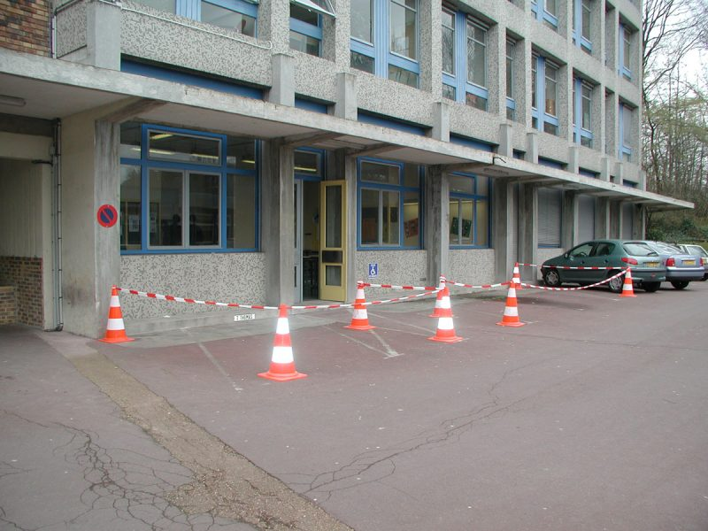 Travaux parking administration