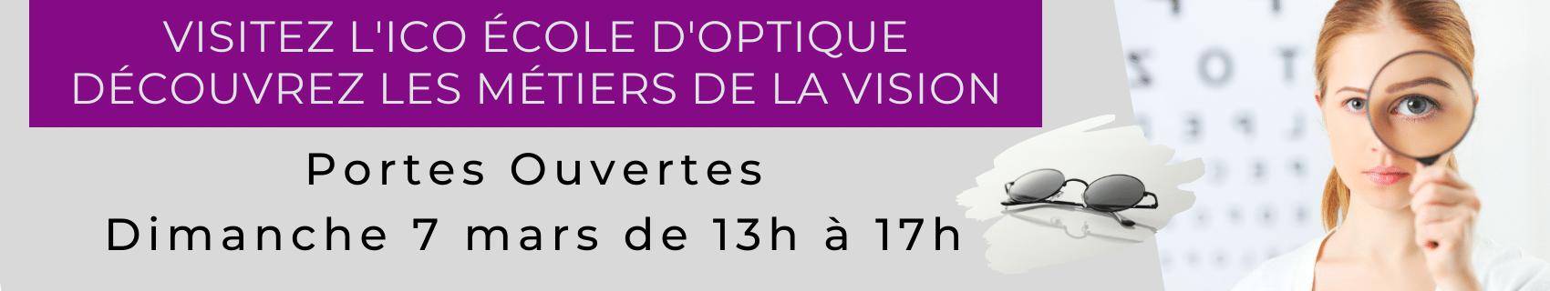 portes ouvertes à l'ICO école d'optique venez visiter le campus (lycée et résidence de logements)