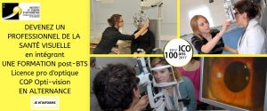 formation post bts ico optique opticien