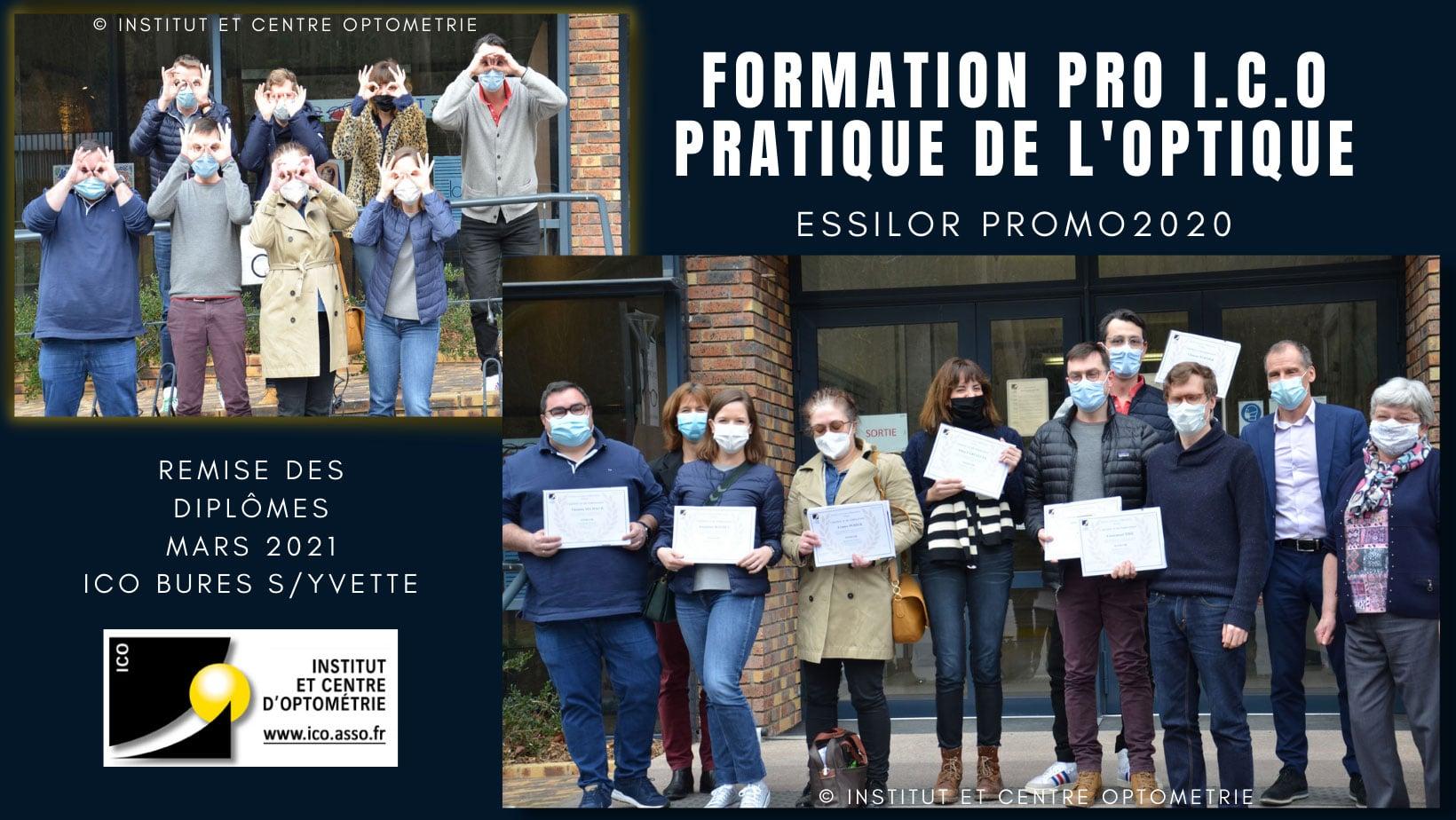 Formation professionnelle ICO ESSILOR promo2020