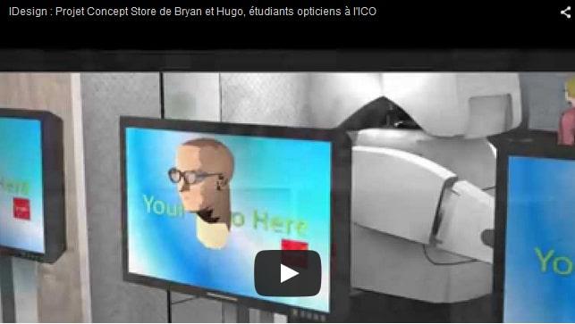 projet vidéo marketing communication étudiants opticiens ICO