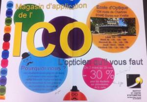 Affiches communication pour projet étudiants BTS Opticien