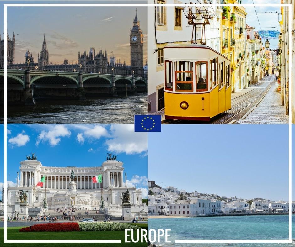 Fais ton stage de fin d'année partout en Europe avec Erasmus +
