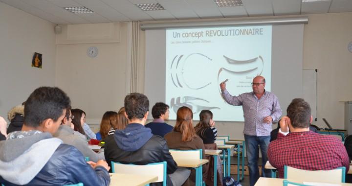 vision et sport, conférence optique animée par Gilles Demetz